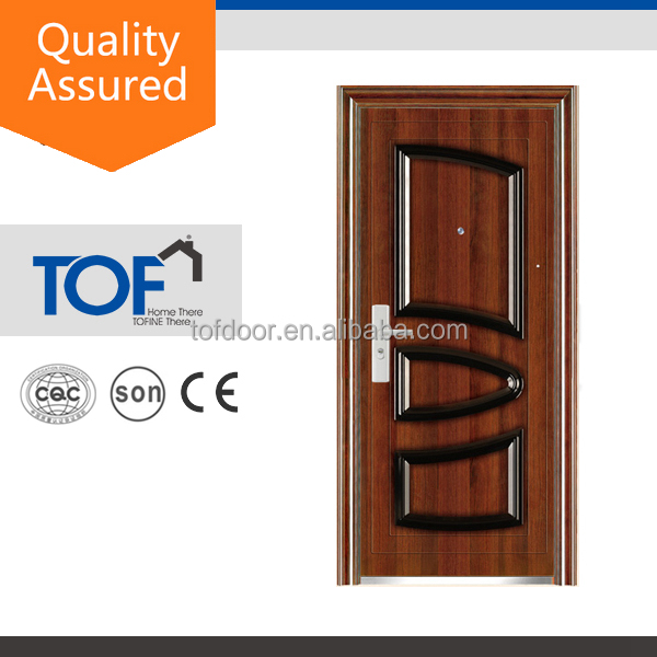 Best Sell Good Quality China 0.7mm steel burglar-proof door