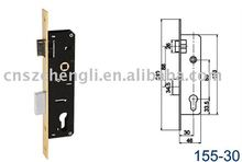 16MM High quality Mortise lock for PVC door