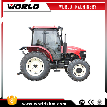 110hp farm machinery agricultural tractor