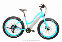 250W350w500w 26inch strong electric bike/fat tire electric bike/electric beach cruiser electric bicycle