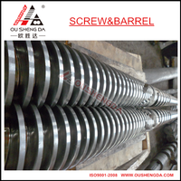 bimetallic conical screw barrel for conical twin extruder