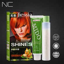 China Hair Dyeing Factory Wholesale Family Use 3d Hair Color Cream/Coverage Gray Hair Color /Permanent Hair Color Cream