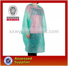 Promotional High Quality Disposable Poncho