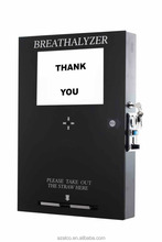 Coin operated smart breathalyzer vending machine for America