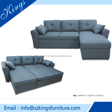 Cheap sofa bed in China/ Folding chair sofa bed / Wood Frame, Fabric sofa bed