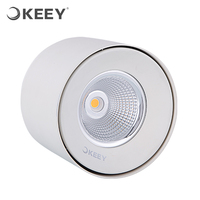 KEEY 220V 8 inch High Power Led Downlight 26W 2700K Pure Aluminum CREE Chips QYR1-MTD811W