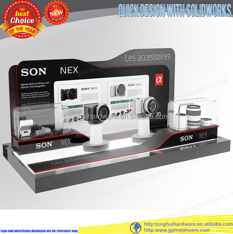 Counter top acrylic camera display