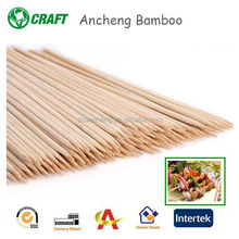 Disposable Thin Bamboo Skewers Sticks