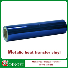 Metalized Heat Transfer Vinyl Film for cloting