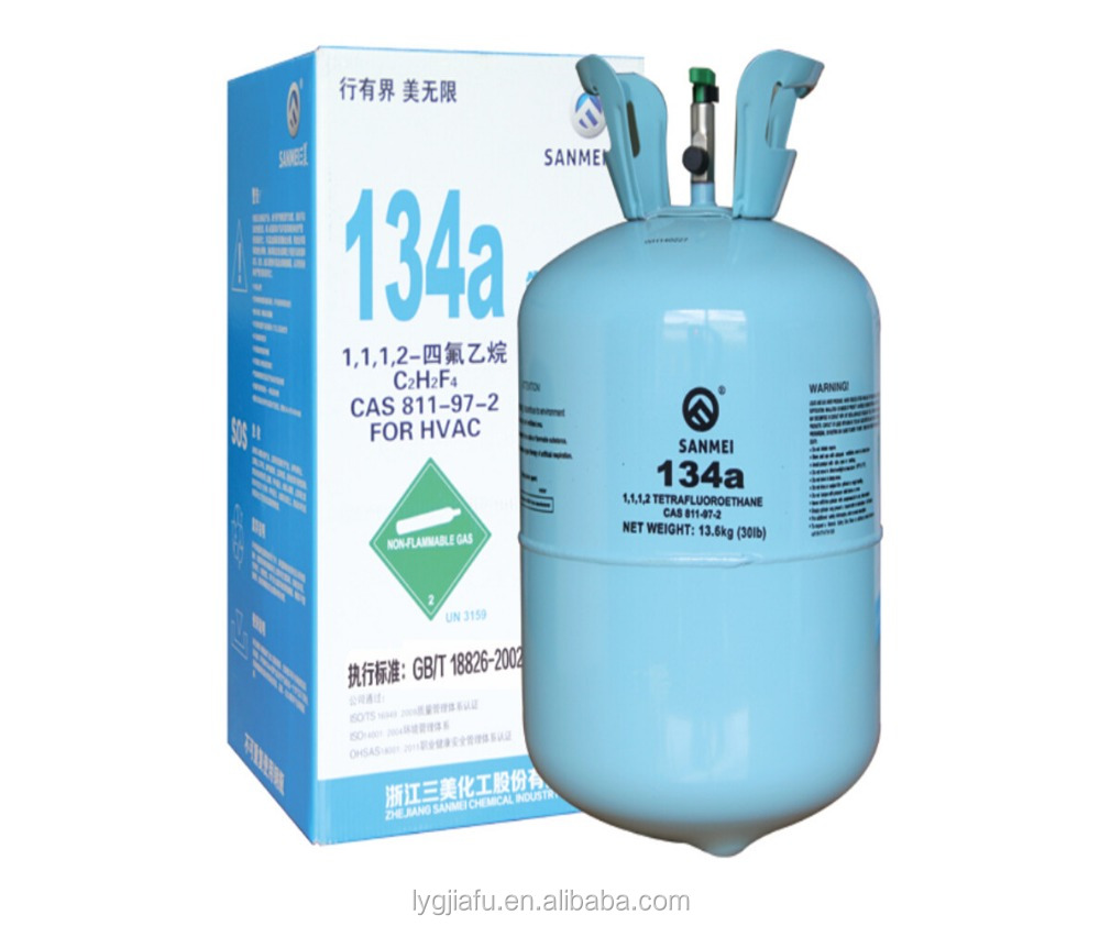 In stock 99.9% Tetrafluoroethane R134a Refrigerant 811-97-2 With Competitive Price Hot Selling!!