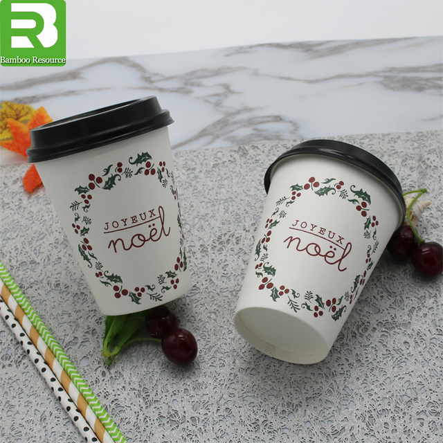 Factory direct sale biodegradable hot drinking paper coffee pla cup