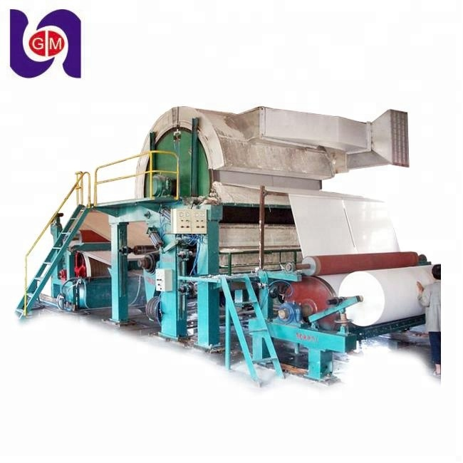 HOT SELLING ON THE MARKET high speed Automatically waste Paper recycle making machinery