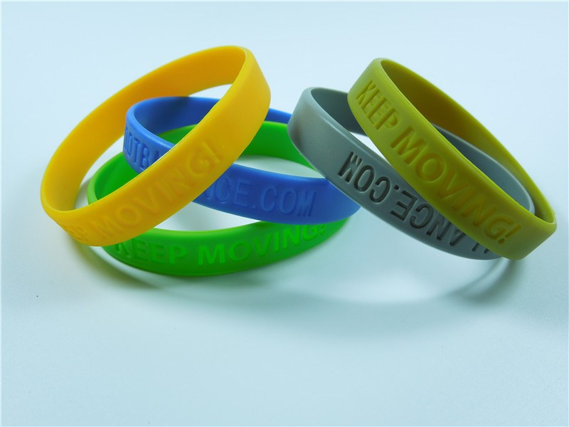 silicone sporting bracelet