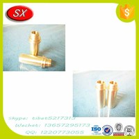 Custom auto hardware brass/steel valve guide pipes for generator