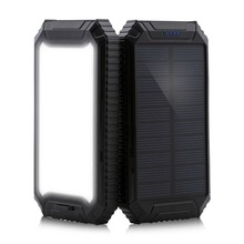 PowerGreen Portable Mini Solar Panel Charger 10000mah Solar Power Bank for Mobile Phone