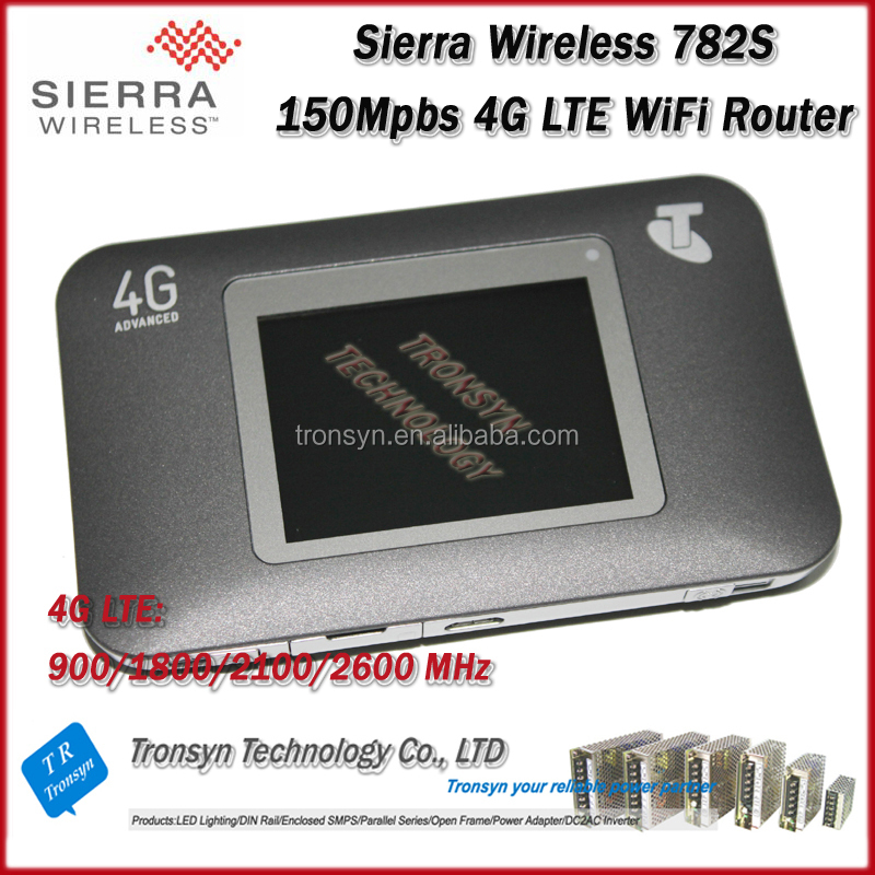 Pocket Wifi Support Power Bank FDD150 Original Unlock Sierra Wireless Aircard 782s 4G Wireless Router With Sim Card Slot