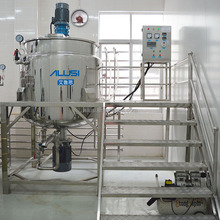 CE certification toilet bowl cleaner making machine, liquid laundry soap making equipment