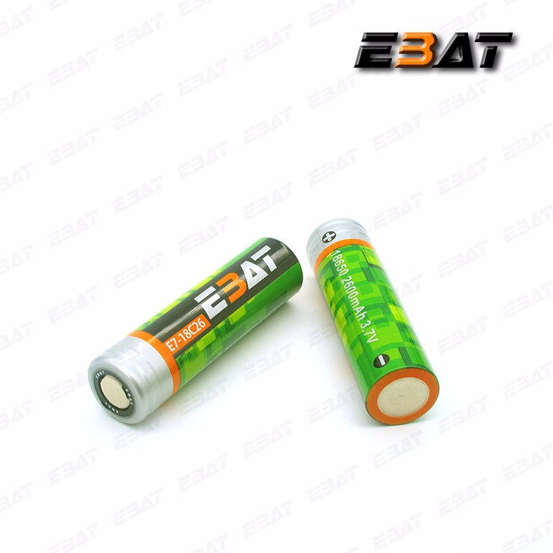 Lithium battery pack 12v 20ah with 18650 li-ion 2600mah battery ebat c26 ICR18650 Cell