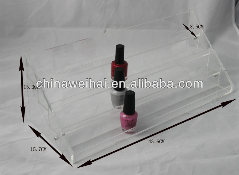 YIWU WEIHAI 60ct ACRYLIC counter nail polish display