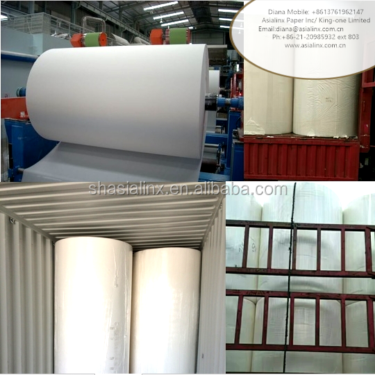tissue paper raw material jumbo tissue roll paper indonesia 100% cellulose toilet papier factory for sale 100% bulk raw material