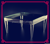 Chinese gold supplier factory price casted acrylic chair