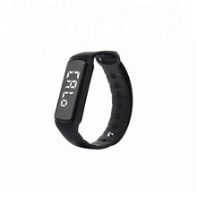 CD-5 led display pedometer electronic silicone <strong>smart</strong> <strong>watch</strong>