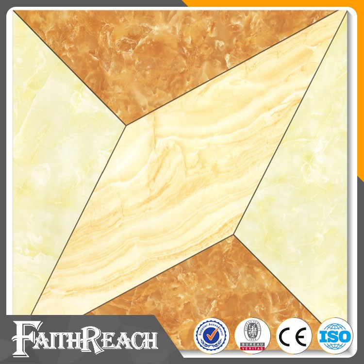 600*600mm Glazed Polished Surface tile for decoration