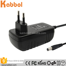 High Quality 5.5mm*2.1mm Universal AC Converter 100-240V To DC 6V 1A 6W Switching Power Supply Adapter Charger EU Plug