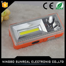 Top sell portable led cob camping work lights 12v