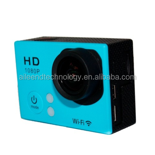 2.0 Inch LCD 140 Degree 1080P WiFi Waterproof Camera Camcorder Action Sport Camera