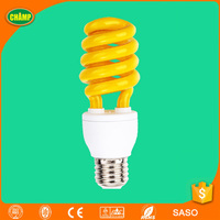 tube 13W spiral colored energy saving bulbs