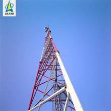 Hot Dip Galvanized self supporting Wifi telecom triangular towers