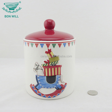 Wholesale custom logo christmas special tea ceramic cup with cover