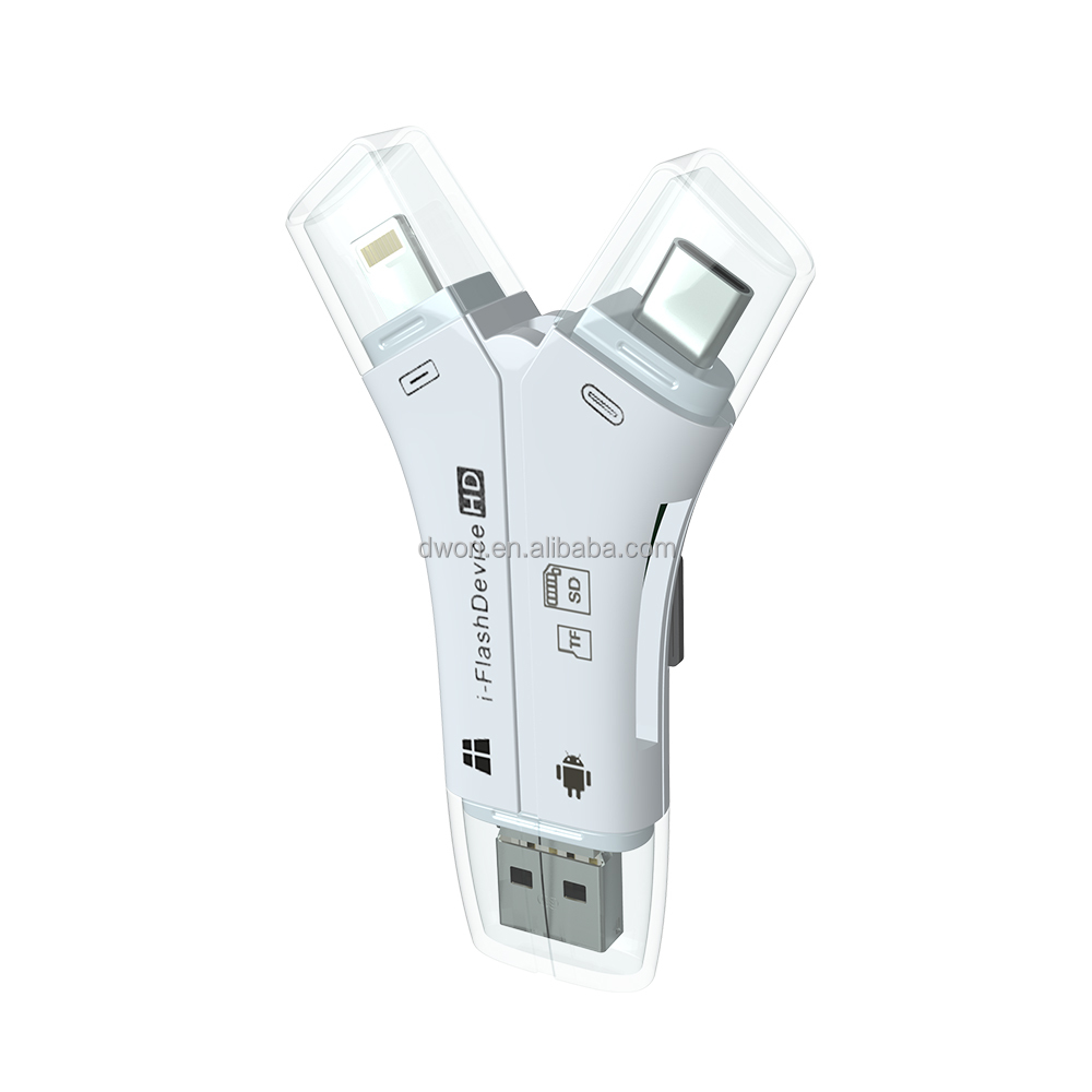 Android USB SD Memory Card Reader for SD card & TF card
