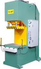 Single arm fast press 2 column hydraulic c framme riveting parts assemble mount press machine
