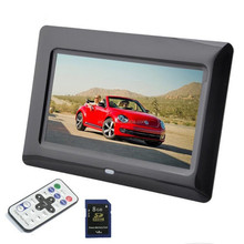 "Customize 7""/8""/10""/15""/18"" inch LCD WIFI remote control touch screen battery operated marco digital de fotos 7 pulgadas"