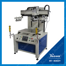 electric flat bed screen printing machine