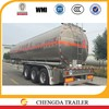 3 Axle 30000Liters 60000Liters Oil Gasoline Aluminum Alloy Fuel Tanker Tank Trailer for Sale