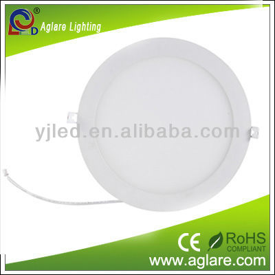 High luminous efficiency round dimming LED panels