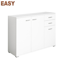 Home used furniture High gloss highboard cabinet dresser sideboard