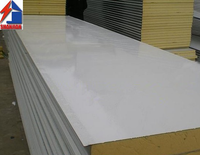high quality waterproof Rock Wool sandwich panel for prefabricated house roof