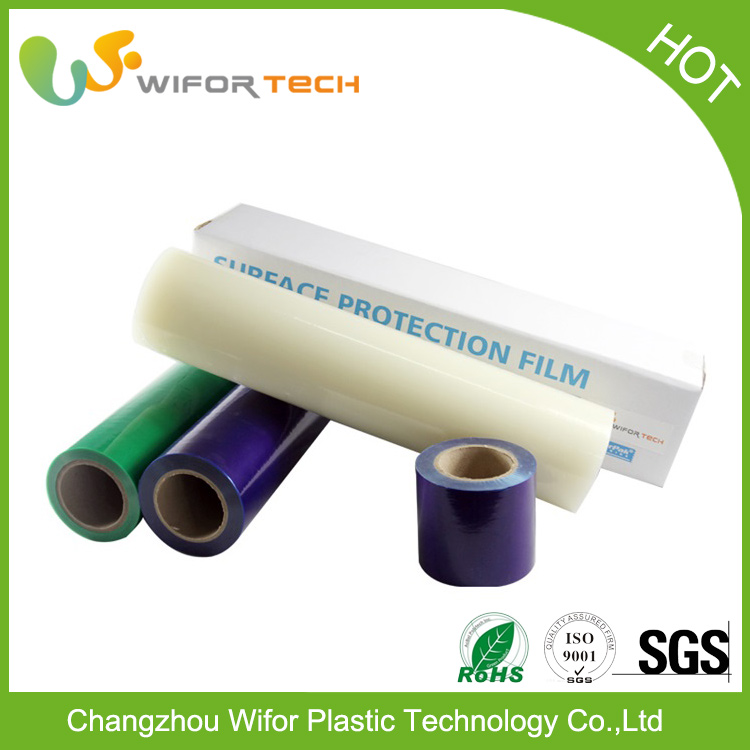 High Grade Mirrorized Safety Backing Protective Film