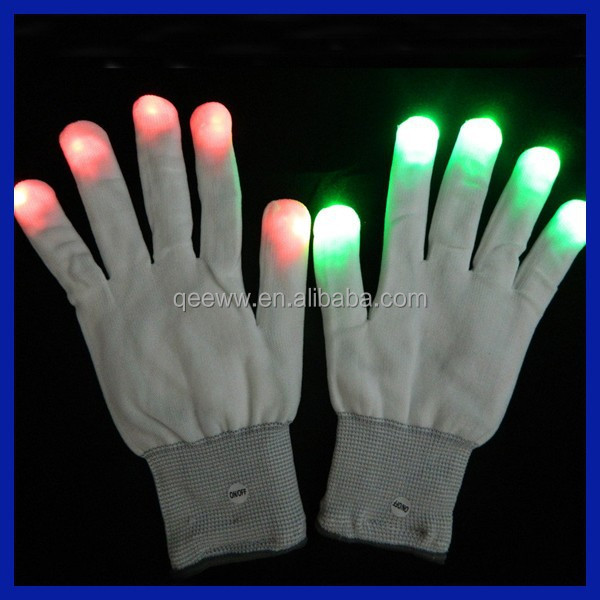 New products 2015 distributer Custom Rave party led magic gloves for kids