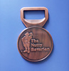 Promotion Creative Party Gifts Round Antique Copper Beer Opener