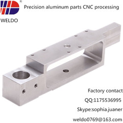 cnc precision machining parts with surface treatment