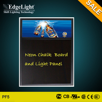 Edgelight new advertising technology illuminated led commercial acrylic dotting light box for festival decoration