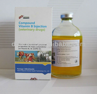 GMP nutritional vitamin b1 b6 b12 injection