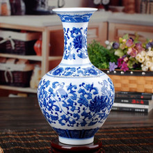 various blue and white ceramic vase in high quality with competitive price