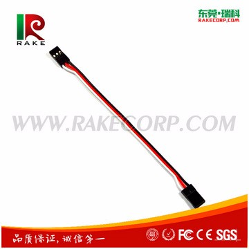 wholesale high quality 3 pins futaba/Jr RC model extension wire cable
