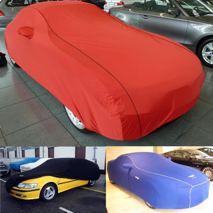 polyester spandex fabric car cover,compact car cover at factory price